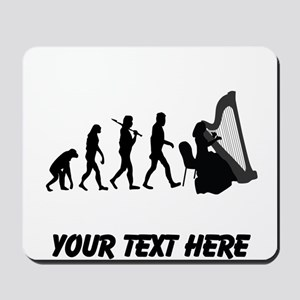 Harp Player Evolution (Custom) Mousepad